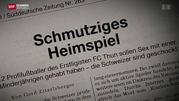 Video «Freispruch für Ex-Spieler des FC Thun» abspielen