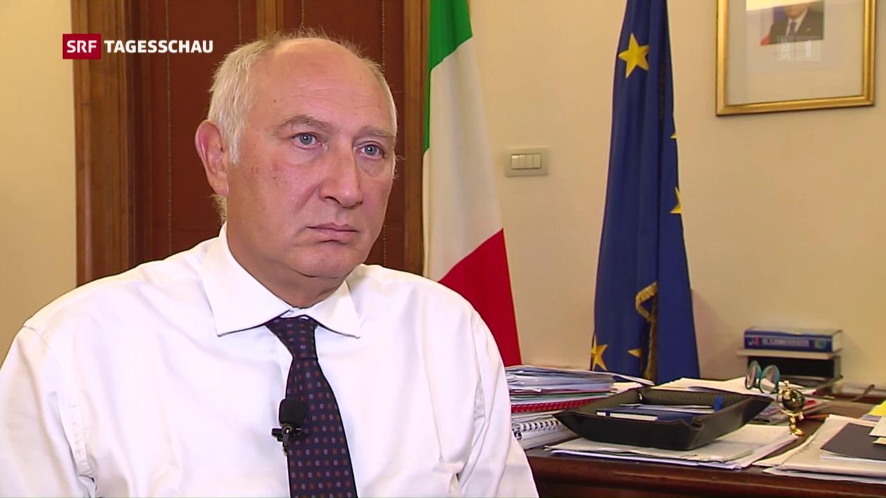 Italien fordert klare Fronten