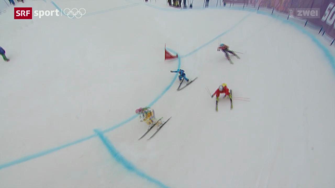Skicross: Keine Medaillen für die Schweiz