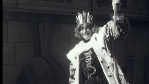 Video «1958: König Rabadan – Fasnacht in Bellinzona» abspielen