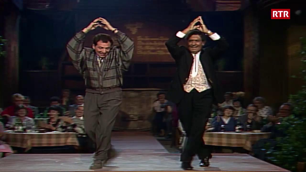 Vico Torriani e Beni Thurnheer - 1987