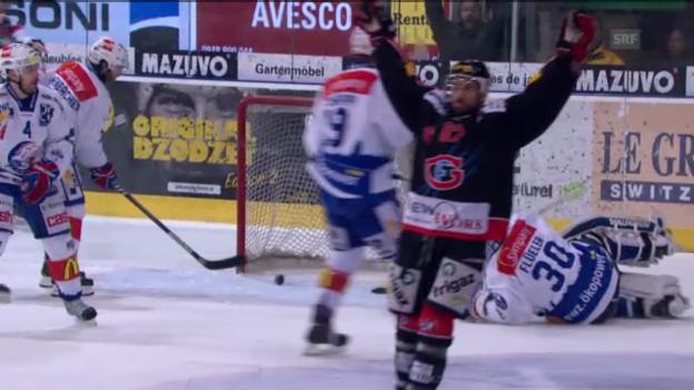 Video «Höhepunkte Fribourg - ZSC Lions («sportlive»)» abspielen