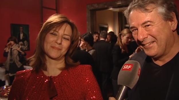 Video «Markus Imboden und Martina Gedeck über ihre Liebe» abspielen