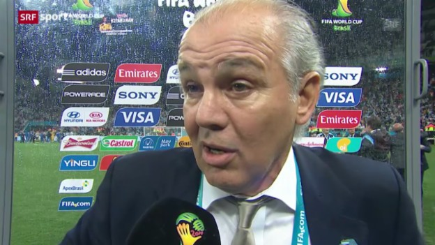 Video «FIFA WM 2014: Interview mit Alejandro Sabella» abspielen