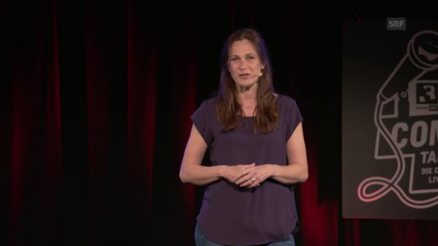 Video «Chrissi Sokoll: «Mutter und Rampensau»» abspielen