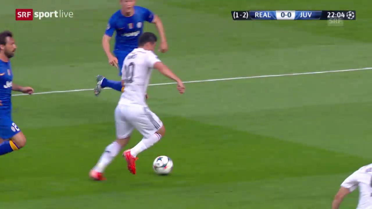 Fussball: Champions League 2015, Halbfinal Real Madrid – Juventus, Highlights 1. Halbzeit