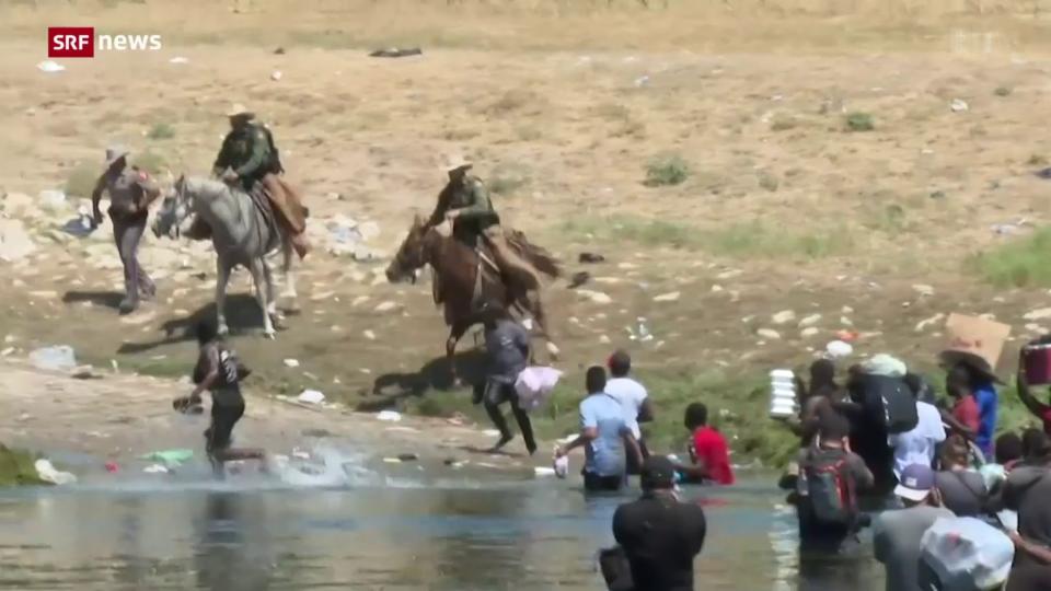 Gewaltsame Wegweisung von Migranten: Biden-Administration in Erklärungsnot