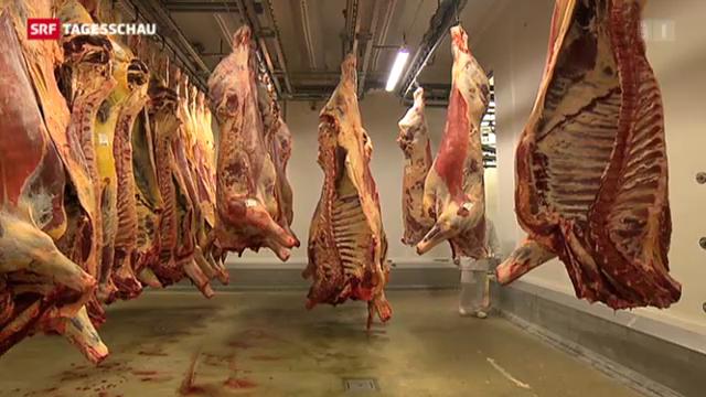 Wie das Fleisch in der Schweiz kontrolliert wird