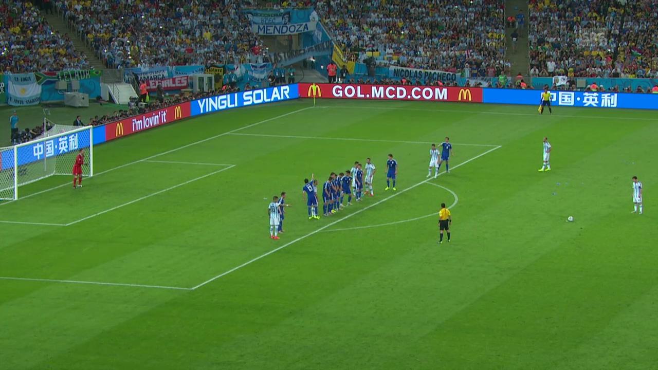 FIFA WM 2014: Zusammenfassung Argentinien - Bosnien