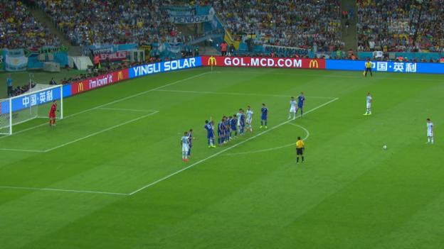 Video «FIFA WM 2014: Zusammenfassung Argentinien - Bosnien» abspielen