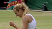 Video «Radwanska scheitert an Cibulkova» abspielen