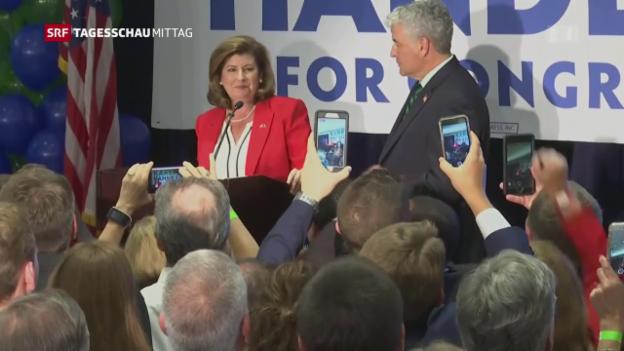 Video «Trotz Trump: Republikaner gewinnen Sitze» abspielen