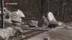 Video «Empörung nach Felssturz» abspielen