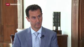 Video «Assad im Interview mit SRF» abspielen