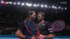 Video «Tennis: ATP-Finals in London, Roger Federer - Stan Wawrinka» abspielen