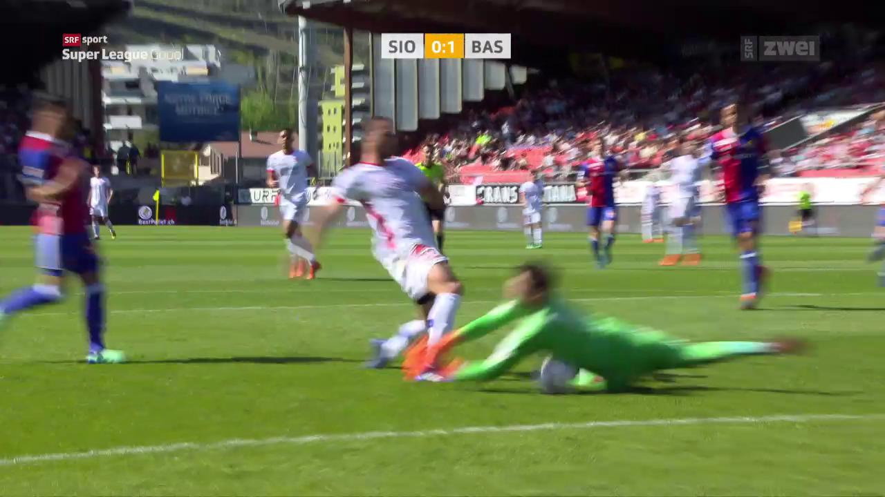In einem aufwühlenden Match spielen Sion und Basel Remis