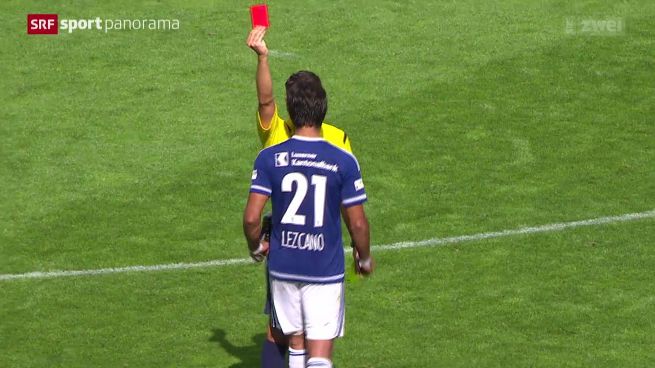 Fussball: Super League, Ausraster von Dario Lezcano