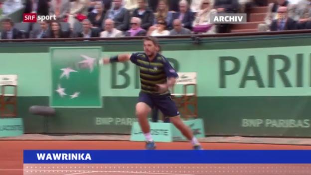 Video «Wawrinka - Almagro «sportaktuell»» abspielen