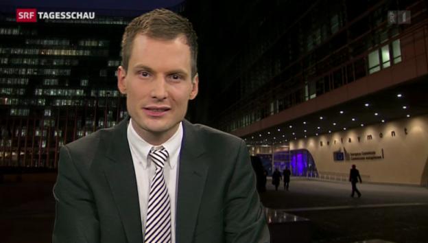 Video «Einschätzungen von Jonas Projer in Brüssel» abspielen
