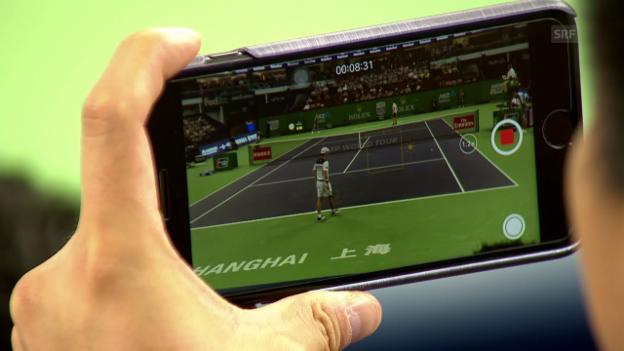 Video «Federer dank Steigerungslauf zum Sieg» abspielen