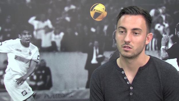 Video «Fussball: Josip Drmic über seinen Wechsel zu Mönchengladbach» abspielen