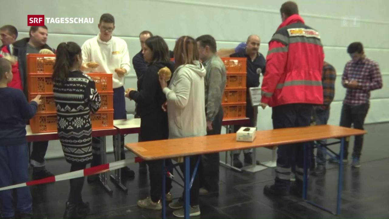 Evakuierung in Augsburg
