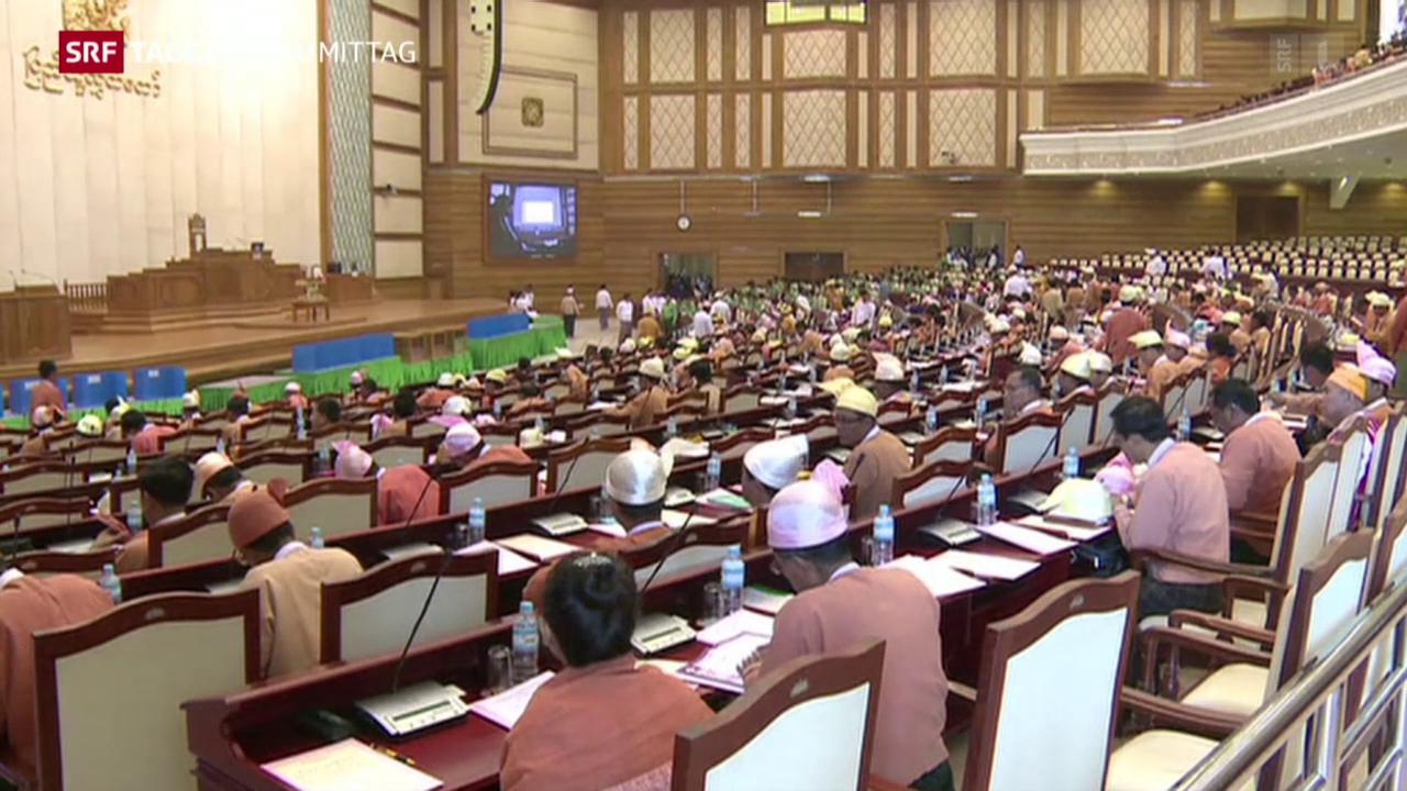 Myanmars Parlament tagt