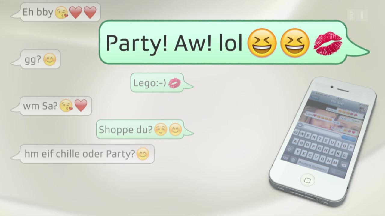 SMS-Slang – Sprachverfall oder kreativ?