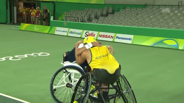 Video «Paralympics: Die Highlights des 7. Tages» abspielen