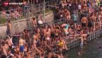 Video «Überdurchschnittlich heisser August» abspielen