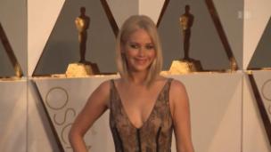 Video «Verliebt und neu auch verlobt: Jennifer Lawrence» abspielen