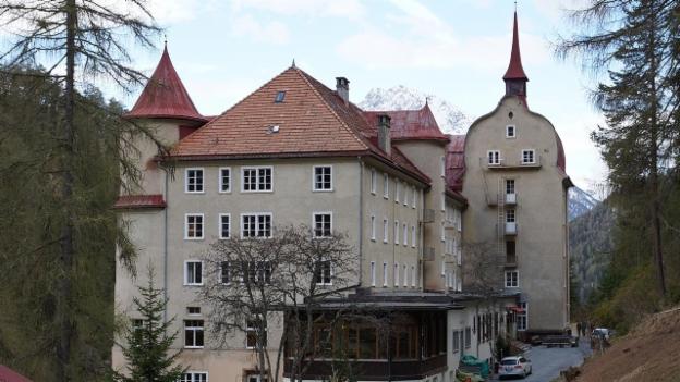 Video «Gruslige Vorgänge im ehemaligen Kurhotel» abspielen