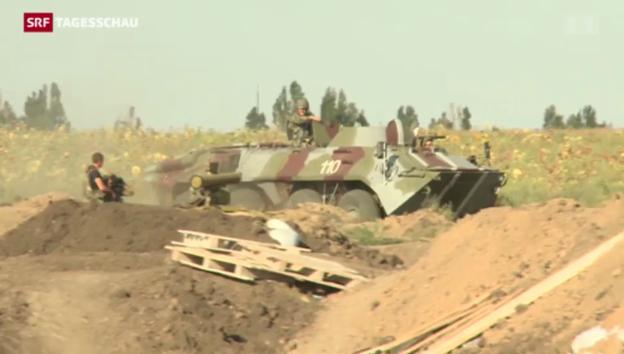 Video «Weitere Angriffe in der Ukraine» abspielen