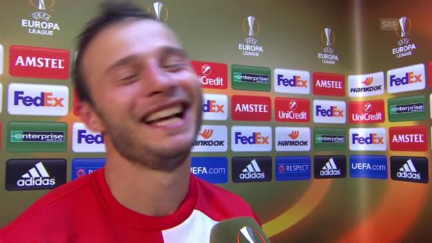 Video «Fussball: EL, Liverpool-Sion, Zverotic» abspielen