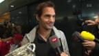 Video «Der Tennis-Maestro zurück in der Schweiz» abspielen