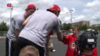 Video «Nico Hischier am Tag vor dem NHL-Draft» abspielen