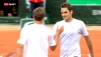 Video «Tennis: Federer - Carreño-Busta» abspielen