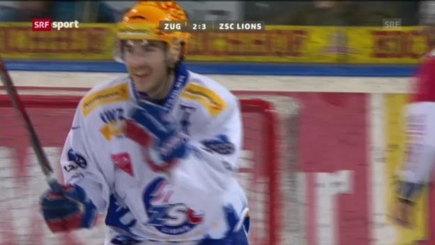 Video «NLA: EV Zug - ZSC Lions» abspielen
