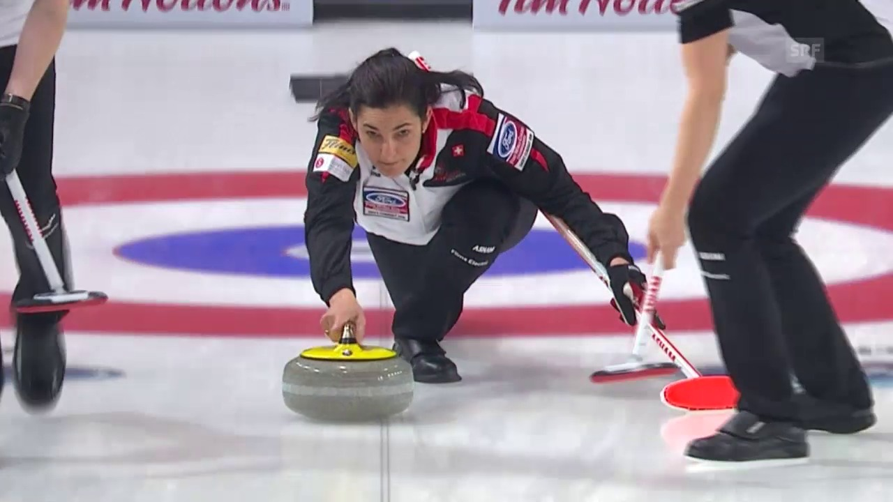 Curling-WM: Die Schweiz im 6. Spiel