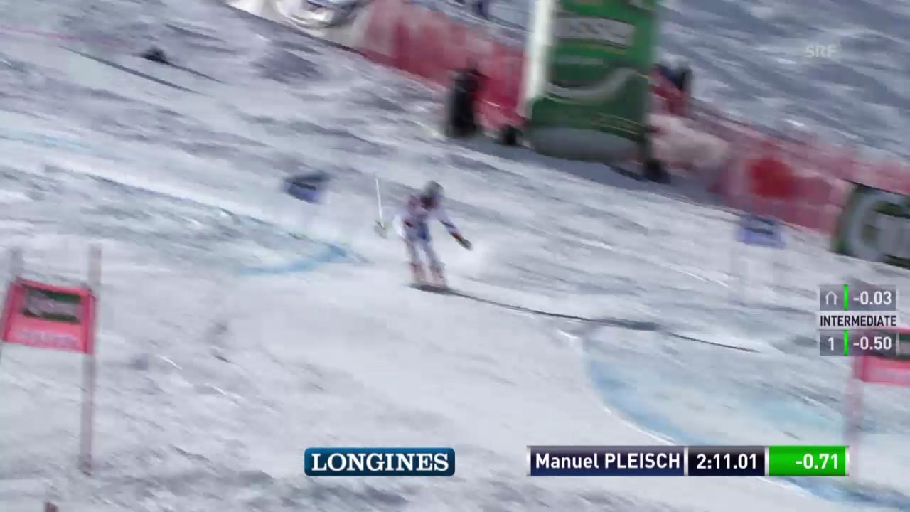 Ski alpin: Riesenslalom in Sölden, 2. Lauf von Manuel Pleisch
