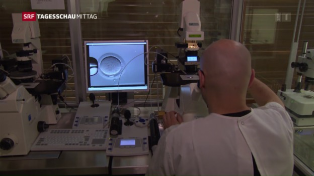 Video «Alain Berset für Präimplantations-Diagnostik» abspielen
