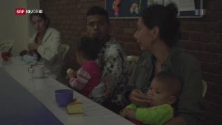 Video «Viele Venezolaner suchen Zuflucht im Nachbarland» abspielen