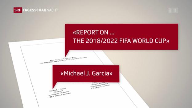 Video «FIFA veröffentlicht Garcia-Bericht» abspielen