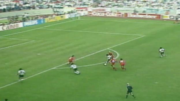 Video «WM 1986: Halbfinal Argentinien - Belgien» abspielen
