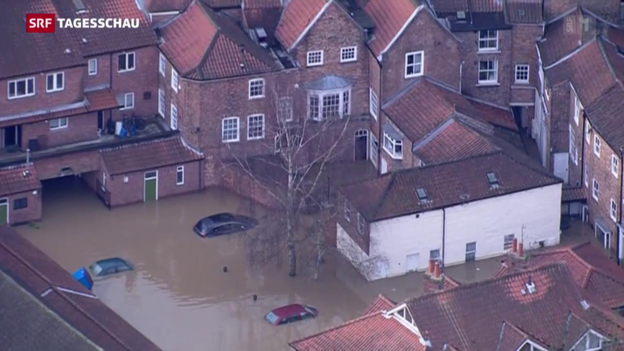 England unter Wasser – Cameron unter Druck