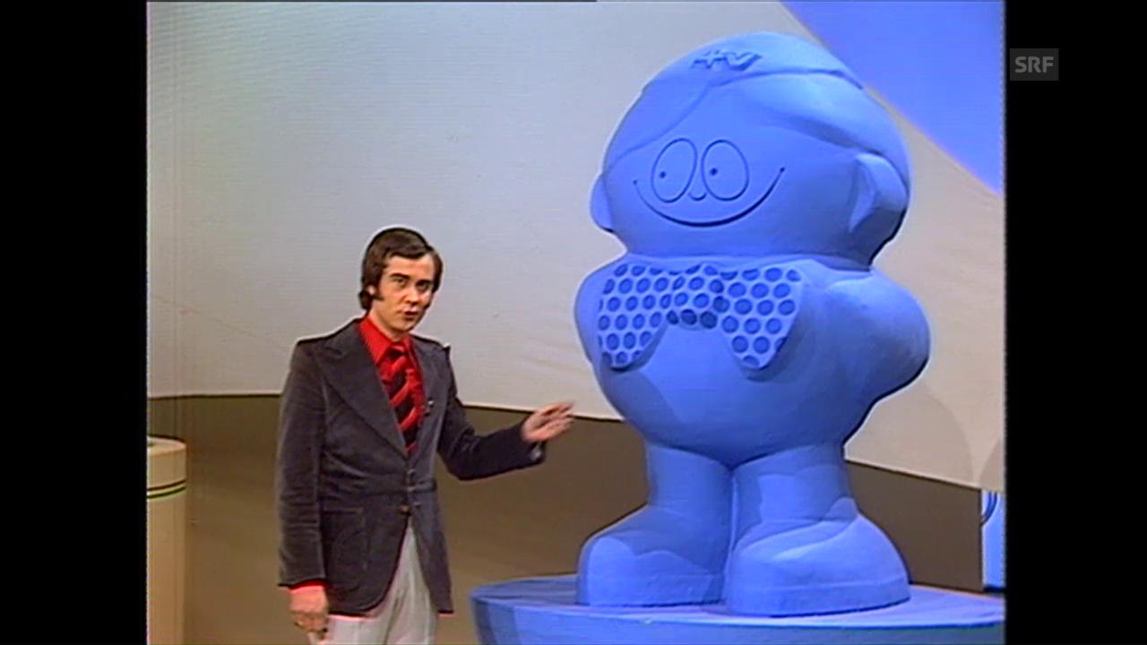 Der erste Teleboy am 23. Februar 1974
