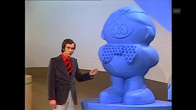 Video «Der erste Teleboy am 23. Februar 1974» abspielen
