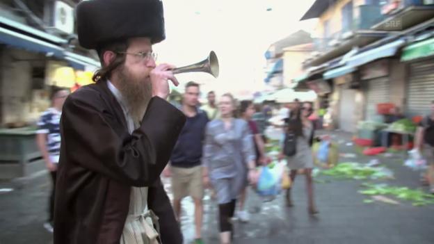 Video «Geschäftsschluss am Schabbat – Ultraorthodoxe üben Druck aus» abspielen