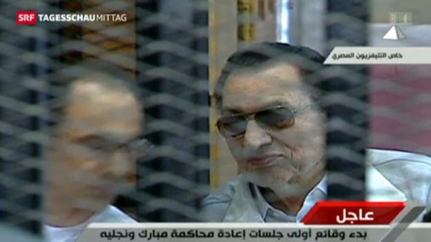 Video «Mubarak-Prozess» abspielen