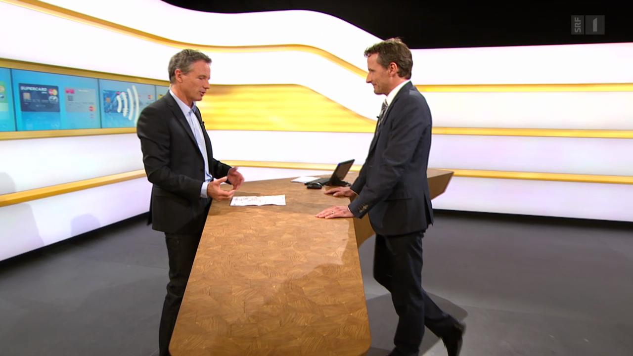 Studiogespräch mit Guido Müller von MasterCard Schweiz
